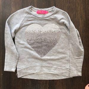Me. N.u. kids light sweatshirt size 5 barely worn